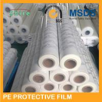 China Milky White Color PE Protective Film For Stainless Steel 3 Color Logo Printable wholesale