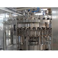 China Automated Stainless Steel Carbonated Drink Filling Packaging Machine wholesale
