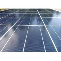 Quality Low Iron Ultra Clear Tempered Solar Glass / Patterned Solar Glass CE Certificate for sale