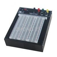 China Transparent 2390 Points Powered Breadboard ABS Solderless Breadboard Power wholesale