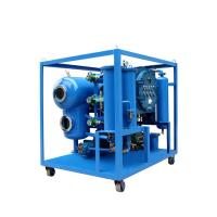 China Vacuum Thermal Dielectric Oil Processing Machine, Online Energized Transformer Oil Purifier on sale