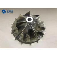 China Wheel Rotor Impeller CNC Precision Components 5 Axis Machining Center on sale