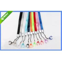 China Custom E-Cigarettes Accessories , Polyester Ego Lanyard Necklace With Ring on sale