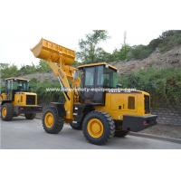 China Sinomtp Lg933 3000kg Wheel Front End Loader With Wooden Fork And Rock Bucket wholesale