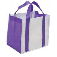 China Colorful PP Non Woven Personalised Carrier Bags Reusable Shopping Tote wholesale