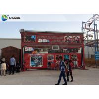 China Amazing 7 D Movie Theater For Cabin With Poster SGS GMC Easy Installation wholesale