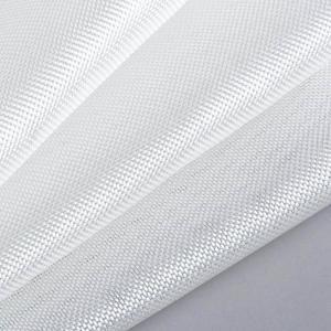 China White color Plain woven fiberglass clothes for composite material wholesale