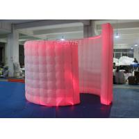 China Spiral Blow Up Photo Booth Two Doors With Doorway -20 To 60 Degrees Working Temp wholesale