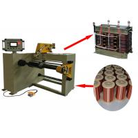 China 1200mm Height Transformer Coil Winding Machine With Automatic Laying Wire on sale