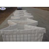 Quality Beige Color  Military Sand Filled Barriers Easy Installation Simple Disassembly for sale