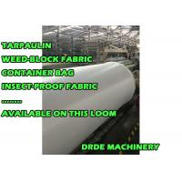 China Plastic Tarpaulin Sheet Loom Making Machine 190 - 400cm Width High Speed wholesale
