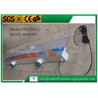 China Plastic Waterfall Blade Water Fountain Equipment Various Sizes Outdoor Decoration wholesale