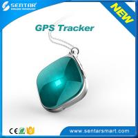 China Triple positioning Luggage mini gps tracker with SOS button GPS Tracking system wholesale