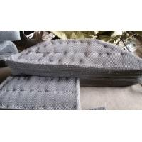 China SS316 Knitted Wire Mesh  Mister Pad For Condensate Flash Separator wholesale