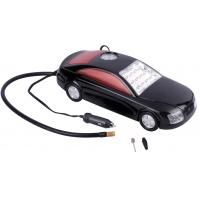 China 12 Volt Car Shaped Car Air Pum 3 In 1 With 4V 1.5Ah Battery 150 PSI With Multi - Color wholesale