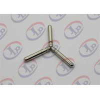 China Knurling Nickel Plating Turned Metal Parts Lathe Finishing Round Head Copper Pins wholesale