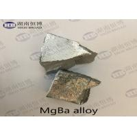 Buy cheap MgBa5 MgBa10 MgBa Alloy Magnesium Barium Alloy For Grain Refine Improve Casting Performance from wholesalers