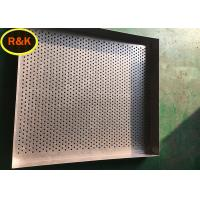 China Safe Rustproof Stainless Steel Wire Basket Tray High Carrying Capacity on sale