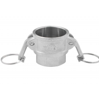 China Hydraulic Stainless Steel Camlock Quick Coupling Type A B C D E F DC DP wholesale