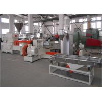 China 600 RPM Torque Co Rotating Twin Screw Extruder For Plastic Granules Making wholesale