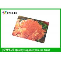 China Colorful Printed Dining Table Placemats Anti Slip OEM / ODM Available 45X30CM wholesale