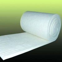 China White color 5mm thickness fiberglass needle mat used for insulation wholesale