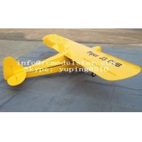"China Piper J3 30cc 92"" Rc airplane model, remote control plane wholesale"