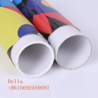 Cylinder Shaped Cardboard Packing Boxes Convenient For Industrial Customized