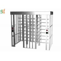 China Standard Fire Interface Full Height Automatic Turnstile Mechanism on sale