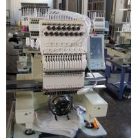 China USB Input Single Head Multi Needle Embroidery Machine , Shoes Embroidery Machine Business on sale