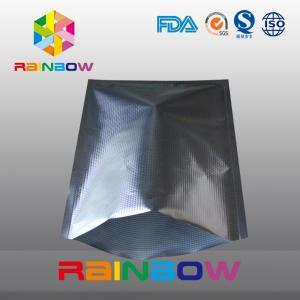China Embossed texture aluminum foil vacuum seal bags for food packaging wholesale
