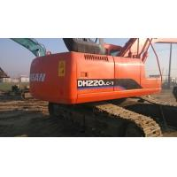 Buy cheap $40000 Good used excavator machine DOOSAN DH220LC-7 2009 made, original paint from wholesalers