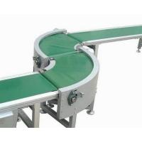 China Blue white green pvc turn curve 90 degree conveyor belt 180 degree conveyor belt wholesale