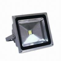 China LED Outdoor Floodlight, 85 to 265V AC Voltage, 30W Power, CE Certified, RoHS Directive-compliant wholesale