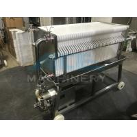 China Ace SUS 304 Stainless Steel Precise Frame Filter Press wholesale