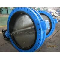 Quality ′U′ Type Flanged Butterfly Valve for sale