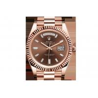 Rolex DAY-DATE 40 OYSTER PERPETUAL Oyster, 40 mm, Everose gold 228235,Replica Rolex Watches For Sale