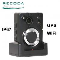 China Wide Angle Infrared GPS Location WIFI Big Button Police Body Worn Camera wholesale