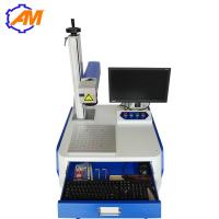 China 20W Desktop Fiber Laser Marking Machine for ring medal watch and metal wholesale