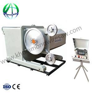China Diamond Wire Saw Mining Machine cutting machine wire Stone quarrying machine used stone cutting machine on sale
