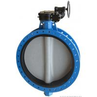 China Carbon Steel Eccentric Butterfly Valve Concentric Construction High Performance on sale