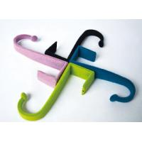 China Colored Sweater / T-Shirt Velvet Hooks Decorative Over The Door Hooks wholesale