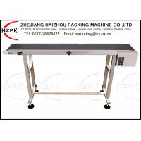 China Date Inkjet Printer Conveyor , Industrial Roller Conveyor Belt Conveying Table Band on sale