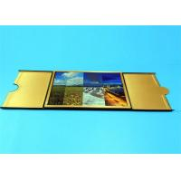China Hardcover Book Printing Services with Golden Edge Sewing Binding 210mm x 297mm wholesale