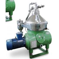 China Disc Stack Centrifuge for Mineral Oil with self-cleaning bowl on sale