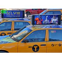 China P5 Outdoor Double Side Car LED Sign Display Roof Video Wifi 4G wholesale