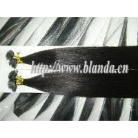 China Premium Natural Indian Remy Flat Tip Hair Keratin Hair Extension on sale