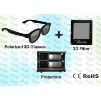 China 3D Polarized Glasses with Trolley and 3D Projector for Museum wholesale