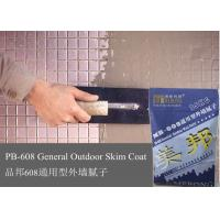 Quality Non Toxic Exterior Wall Putty , Harmless Cement Based Render for sale