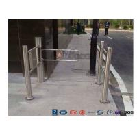 China Pedestrian Entrance Automatic Biometric Access Control System Swing Barrier wholesale